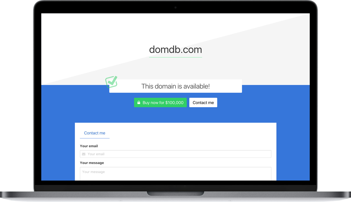 DomainHolder Parking Page